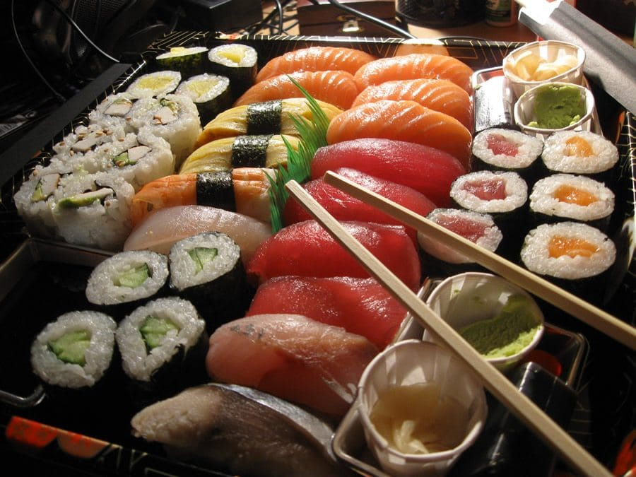 Sushi party a roma