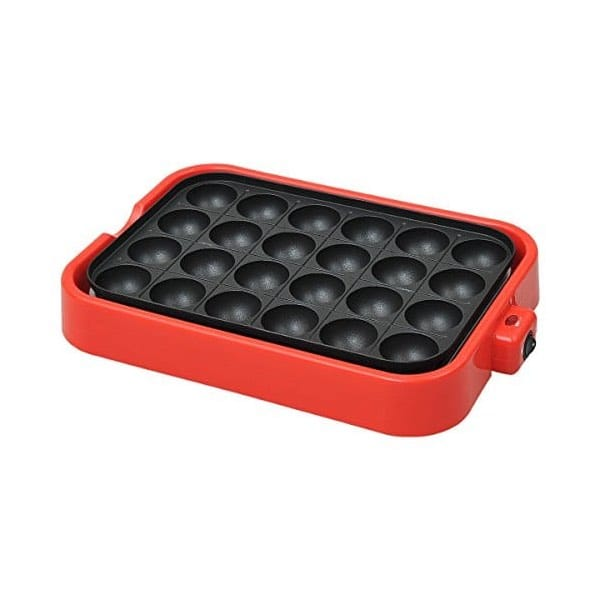 Electric Takoyaki Pan Pancake Puffs - 24 molds [Kitchen] (japan import)